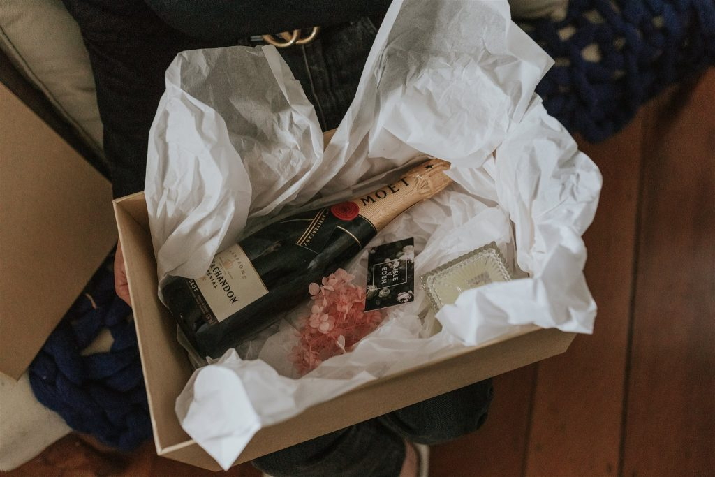 Special wedding delivery